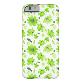 Den trevliga vårvattenfärgen blommar fodral barely there iPhone 6 fodral
