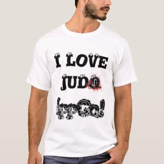 Den Tricou barbatien älskar jag Judo - Ippon! de Tee Shirt