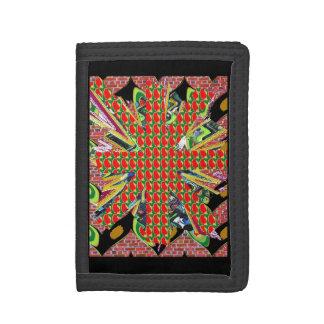 Den TriFold plånboken väljer nylondenim- eller