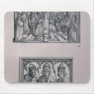 Den Triumphal bågen av kejsaren Maximilian mig Musmatta