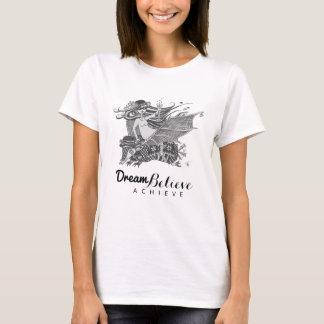 Den tro drömmen för bältdjurfladdermössflicka | t-shirts