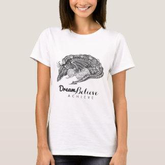 Den tro drömmen för drakemamma | uppnår T-tröja Tee Shirts