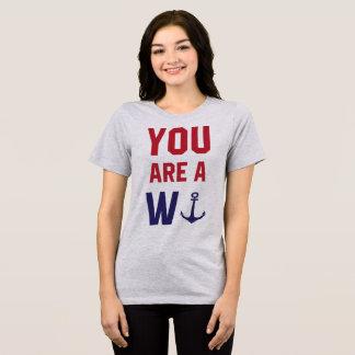 Den Tumblr T-tröja är du wankeren Tröja