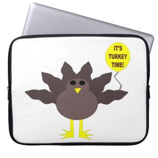 Den Turkiet Time thanksgivingbärbar dator hänger l Laptop Fodral