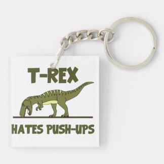 Den TyrannosaurusRex dinosauren som hat skjuter,