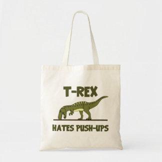 Den TyrannosaurusRex dinosauren som hat skjuter, Tygkasse