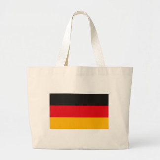 Den tysklanda flaggatotot hänger lös jumbo tygkasse