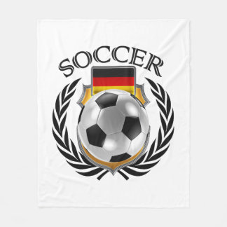 Den tysklanda fläkten för fotboll 2016 utrustar fleecefilt