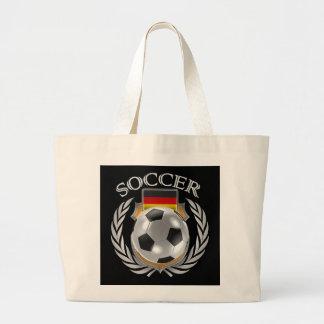 Den tysklanda fläkten för fotboll 2016 utrustar jumbo tygkasse