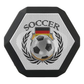 Den tysklanda fläkten för fotboll 2016 utrustar svart bluetooth högtalare
