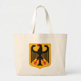 Den tysklanda vapensköldtotot hänger lös jumbo tygkasse