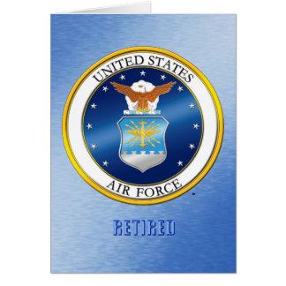 Den U.S.A.F. avgick hälsningen & noterar kort