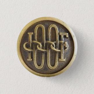 Den udda kamratdörrhandtaget knäppas mini knapp rund 3.2 cm