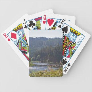 Den Umpqua floden, Oregon Spelkort