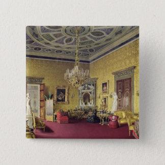 Den underbara agaten Hall i den Catherine slotten Standard Kanpp Fyrkantig 5.1 Cm