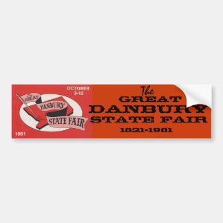 Den underbara Danbury statliga mässaklistermärken Bildekal