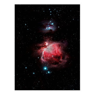Den underbara nebulaen i Orion Vykort