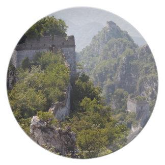 Den underbara väggen av chinan, unrestored JianKou Tallrik