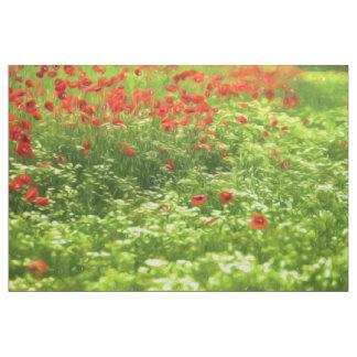 Den underbara vallmon blommar V - Wundervolle Tyg