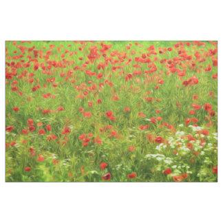Den underbara vallmon blommar VII - Wundervolle Tyg
