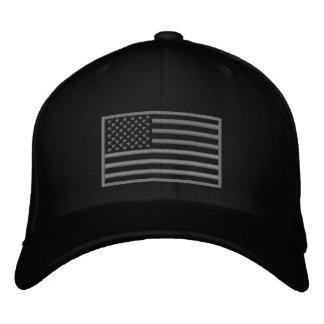 Den underkuvade färgU.S.-flagga broderade hatten Broderad Keps