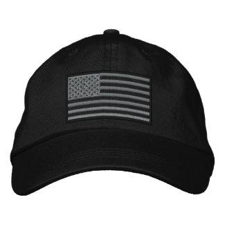 Den underkuvade U.S.-flagga broderade hatten Broderad Keps