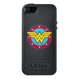 Den undra kvinnan | cirklar & stjärnalogotypen OtterBox iPhone 5/5s/SE skal