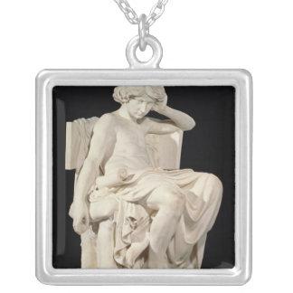 Den unga Aristotlen, 1870 Silverpläterat Halsband