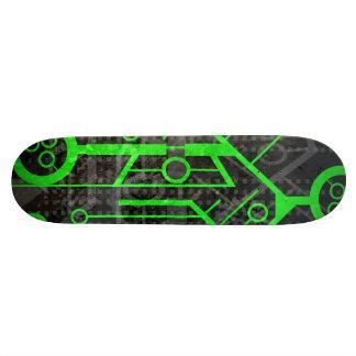 Den unika skridskon stiger ombord mini skateboard bräda 18,7 cm