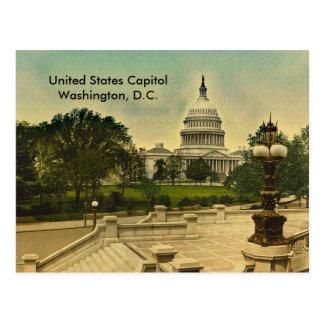 Den United States huvudstaden från bibliotek Vykort
