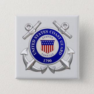 Den United States kustbevakningen kvadrerar Standard Kanpp Fyrkantig 5.1 Cm