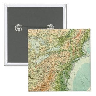 Den United States östran delar upp Standard Kanpp Fyrkantig 5.1 Cm