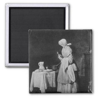 Den uppmärksama sjuksköterskan, c.1738 magnet