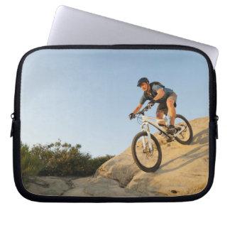 Den USA Kalifornien, Laguna stranden, att cykla Laptop Sleeve