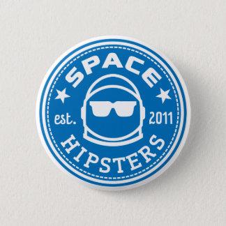 Den utrymmeHipsters® logotypen knäppas Standard Knapp Rund 5.7 Cm