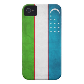 Den uzbekiska flaggaiphone case täcker iPhone 4 skydd