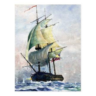 Den väldiga Ship-vykortet Vykort