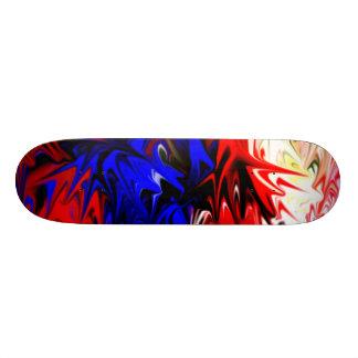 Den våldsamma Färg-Krig skridskon stiger ombord Skateboard Bräda 19,5 Cm