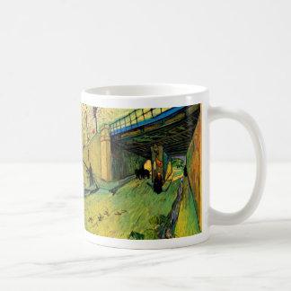 Den Van Gogh järnvägen överbryggar, avenyn Kaffemugg