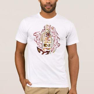 Den Vanwizle Egretfågeln T-shirt