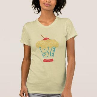 Den världsomspännande veganen bakar Saleskjortan Tee Shirts