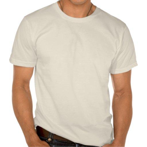 Den världsomspännande veganen bakar Saleskjortan v Tee Shirt