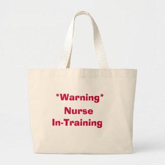 Den varningssjuksköterskaI-Utbildning totot hänger Jumbo Tygkasse