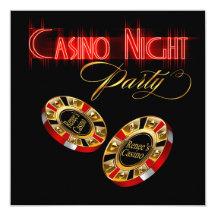Den Vegas kasinonatten FRÅGAR MIG att 2 SÄTTER Anpassade Tillkännagivande