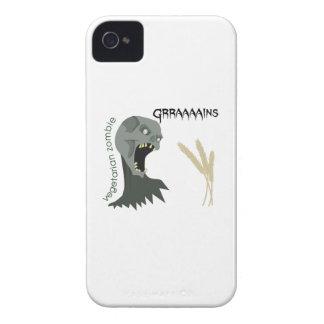 Den vegetariska zombien önskar Graaaains! iPhone 4 Case-Mate Skal