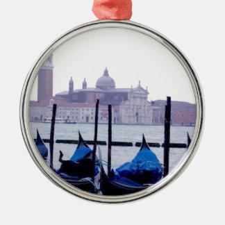 Den Venedig italien reser Julgransprydnad Metall