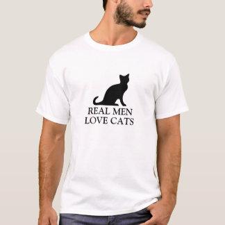 Den verkliga manar älskar skjorta svartvit | för tee shirt