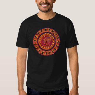 Den verkliga Mayan kalendern 2012 Tee Shirt