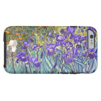 Den Vincent Van Gogh lilan Irises blom- konst Tough iPhone 6 Case