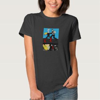 Den VISA tecknadt-skjortan som presenterar jeten, Tee Shirts